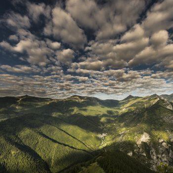 panorama sull'Alta Val Tanaro