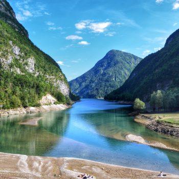 La siccità sul fiume Mis Belluno