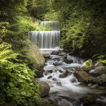La cascata del mulino