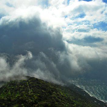 Con le nuvole…